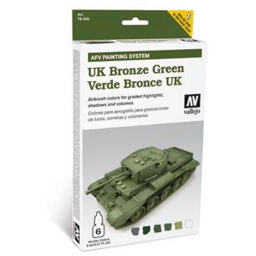 Vallejo Armour Set - AFV UK Bronze Green
