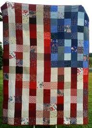 Cool Version Of American Flag Quilt
