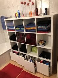 ikea kallax regal hacks für dein badezimmer ikea kallax
