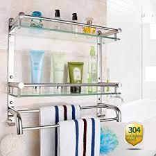 badezimmer regal zu hause aus ideen wand 2 tier nickel