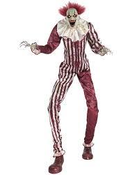 Animatronic Halloween Props Uk by Halloween Animatronics Spirit Creepy Towering Clown 6 5 Ft Haunted