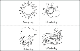 Full Image For Windy Day Coloring Pages Sheets Weather