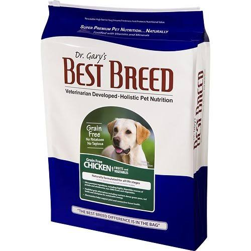 Dr. Gary's Best Breed Grain Free Holistic Chicken with Fruits & Vegetables Dry Dog Food 30-lb