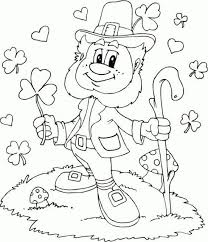 112 Best St Patricks Coloring Pages Images On Pinterest