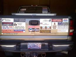 Random Bumper Stickers [Archive] - WTFDetroit.com Lamedouchey Bumper Stickers And Window Decals Bumper Sticker Switch 2 Gluten Free Carr Dem Stickers So Dull Tailgating Isnt Worth Bother Auto Car Sticker Decal Cowboy Hat Texas Truck Laptop 8 By Past Programs 42015 Womens Voices Raised How To Remove Those Campaign Features Oprah Overrated Pretentious Racist Antiamerican Hypocrite Tom The Backroads Traveller Honk If Youre Horny Funny Crazy Wild Usa Stock Photos Curious Tags Windshield