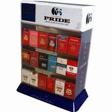 China Cigarette Display Stand Made Of Acrylic