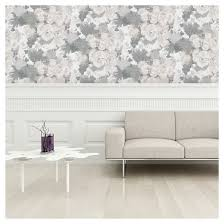 Sensational Stick On Wall Paper Also Devine Color Bouquet Floral Peel Wallpaper Mirage Target Uk Home Depot