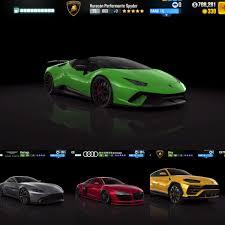 All Next Season Cars In CSR2 Tune Shift PrestigeGold