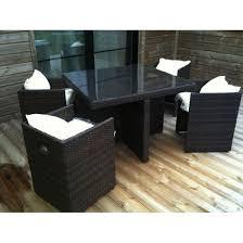 tables de jardin en resine salon jardin résine tressée pas cher meuble jardin bois trendsetter