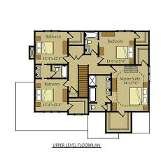 The Two Story Bedroom House Plans by Two Story Four Bedroom House Plan With Garage