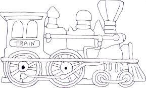 Dessin De Coloriage Train à Imprimer CP26338