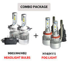 led lights in brand lasfit bulb size h4 9003 placement on