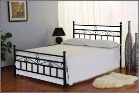 Black Metal Bed Frame Queen Size Pretty Black Metal Bed Frame