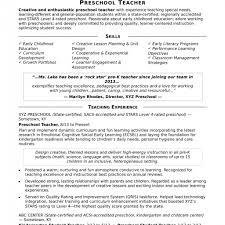 Preschool Teacher Resume Sample Monster Templates Design Cover Letter Job Jpg 1024x1024