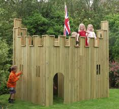 All Out Play Castle Wooden Playhouse | Garden Ideas | Pinterest ... A Diy Playhouse Looks Impressive With Fake Stone Exterior Paneling Build A Beautiful Playhouse Hgtv Building Our Backyard Castle Wood Naturally Emily Henderson Best Modern Ideas On Pinterest Kids Outdoor Backyard Castle Plans Plans Idea Forget The Couch Forts I Played In This As Kid Playhouses Playsets Swing Sets The Home Depot Pirate Ship Kits With Garden Delightful Picture Of Kid Playroom And Clubhouse Fort No Adults Allowed
