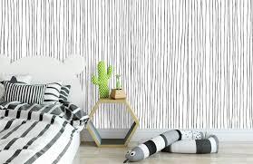 schwarzweiß tapete mit abstrakten linien