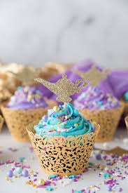 DIY Aladdin Cupcakes A Fun And Simple Cupcake Perfect To Celebrate Any Princess Jasmine Or