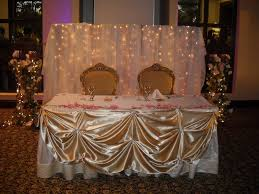 Quinceanera Decorations For Hall by Quinceanera Head Table Decorations Request A Custom Order And
