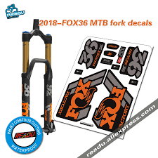 2018 Fox36 Mountain Bike Fork Stickers MTB Speed Down Mountain Fox ... Fox Racing Head Chrome Thermal Diecut Sticker Chapmotocom Heritage Decal Kits Fox Stickers For Car Windows Motocross Decals Shox Fork And Shock Kit Red Head 3 Sticker Imported Pins Patches Stickers Peek A Boo Decal Ami Grn Head 7 Inch Foxracingcom Official 36 Float Set 2017 Fanatik Bike Co B Stop 83 Street For Cars Mossy Oak Camo 85x10 Window Full Color