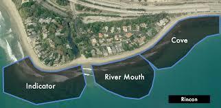 Map Of Rincon Surf Spot Santa Barbara