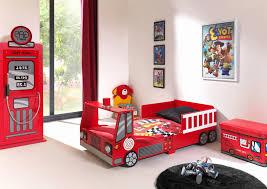 chambre voiture garcon lit camion pompier nouveau chambre voiture garcon but idées