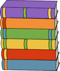 Tall Stack of Books Clip Art Tall Stack of Books Image