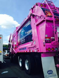 100 Pink Truck New Trash S For Prince William County Va It Says Trashing