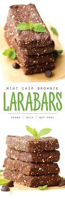 Homemade Larabars In A New Favorite Mint Chocolate Flavor These Nut Free Energy Bars