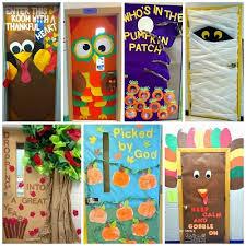 fall door decoration ideas for the classroom doors decoration