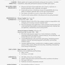 Curriculum Vitae Samples For Teaching Assistant