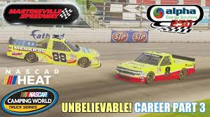 UNBELIEVABLE! (Martinsville - Trucks) | NASCAR Heat 2 Career Part 3 ... Bobby Labonte 2005 Chevy Silverado Truck Martinsville Win Raced Trucks Gallery Now Up Bryan Silas Falls Out Of 2014 Nascar Camping Kyle Busch Wins Martinsvilles Race Racingjunk News First 51 Laps Of Spring 2016 Youtube Nemechek Snow Delayed Series In Results March 26 2018 Racing Johnny Sauter Holds Off Chase Elliott To Advance Championship Google Alpha Energy Solutions 250 Latest Joey Logano Cooper Standard Ford Won The Exciting Bump Pass