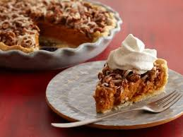 Pumpkin Pie With Pecan Praline Topping by Sweet Potato Pie With Candied Pecans And Coconut Recipe Food