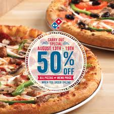 Domino's Pizza Offering 50% Off At Locations Across Canada This Week ... How To Use Dominos Coupon Codes Discount Vouchers For Pizzas In Code Fba05 1 Regular Pizza What Is The Coupon Rate On A Treasury Bond Android 3 Tablet Deals 599 Off August 2019 Offering 50 Off At Locations Across Canada This Week Large Pizza Code Coupons Wheel Alignment Swiggy Offers Flat Free Delivery Sliders Rushmore Casino Codes No Deposit Nambour Customer Qld Appreciation Week 11 Dec 17 Top Websites Follow India Digital Dimeions Domino Ozbargain Dominos Axert Copay