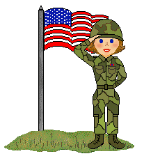 Female Soldier Cliparts