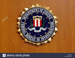 federal bureau of justice dpa the picture shows the emblem of the federal bureau of stock