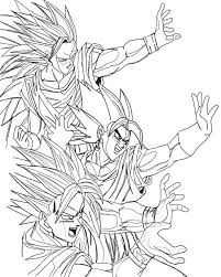 Awesome Dragon Ball Z Coloring Page Kids Play Color