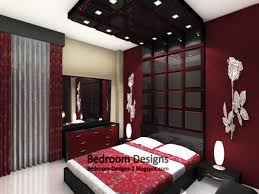 small bedroom design with mirror tiles
