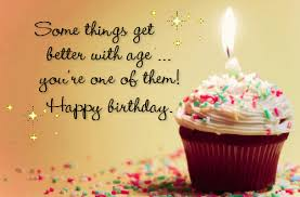 happy birthday cupcake with candle wishes image for