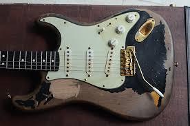 Rittenhouse John Mayer Stratocaster Black 1 Tribute