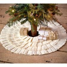 72 Inch Christmas Tree Skirts by Decorating Nice Burlap Tree Skirt For Modern Living Room Design