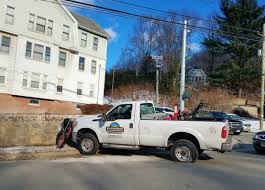 Pick-up Truck Slams Into Stone Wall In Waterbury | Republican-American