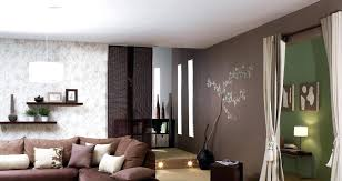 idee tapisserie chambre idee deco papier peint dacco couleurs nature idee deco papier