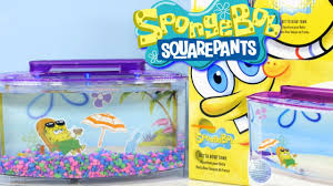 Spongebob Aquarium Decorating Kit by Nickelodeon Spongebob Squarepants Betta Bow Fish Tank Setup