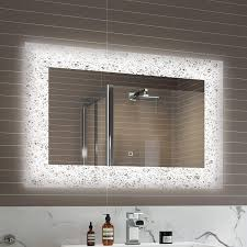 900 X 600 Mm Designer Illuminated LED Bathroom Mirror Light Sensor + ... Superior Haing Bathroom Mirror Modern Mirrors Wood Framed Small Contemporary Standard For Bathrooms Qs Supplies High Quality Simple Low Price Good Design Mm Designer Spotlight Organic White 4600 Inexpensive Spectacular Ikea Home With Lights Creative Decoration For In India Ideas William Page Eclipse Delux Round Led Print Decor Art Frames