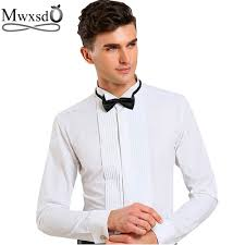 popular fold men collared dress shirt buy cheap fold men collared
