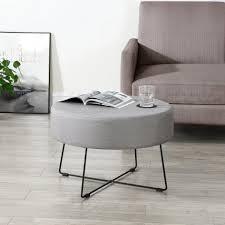 en casa couchtisch nelson 2 in 1 beistelltisch und sitzhocker schwarz grau 40x60cm kaufen otto