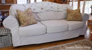 amazing drop cloth slipcover sofa 95 no sew drop cloth sofa