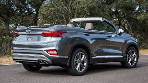 Hyundai Australia Releases Images Of A Santa Fe Cabriolet Without ...