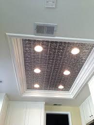 ceiling tile light fixtures awesome decorative drop ceiling tiles