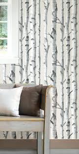 Peel And Stick Wallpaper Reviews Birch Tree X Target